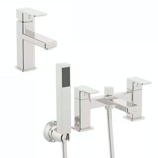 Quartz Basin and Bath Shower Mixer Pack