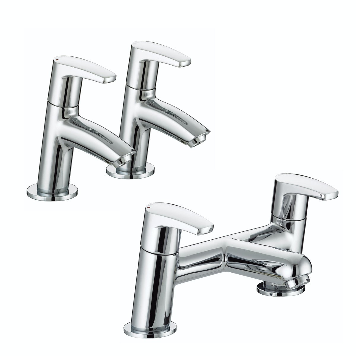 Bristan Orta basin tap and bath mixer tap pack