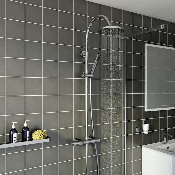 Derwent round shower riser system