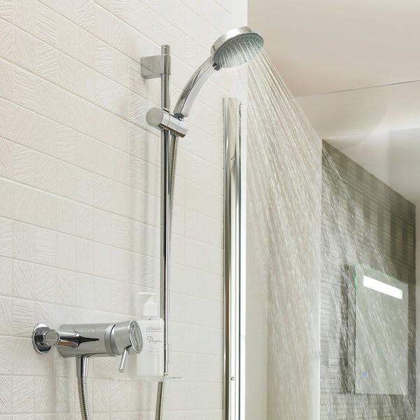 Mira Element SLT EV thermostatic mixer shower