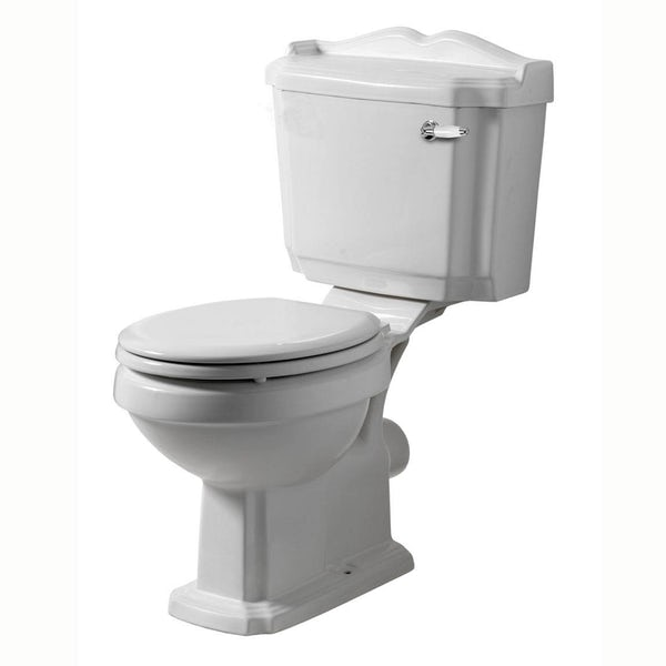 Winchester Bathroom Suite (white seat)