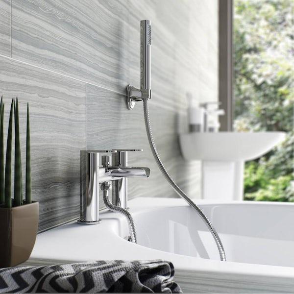 Eden waterfall bath shower mixer tap