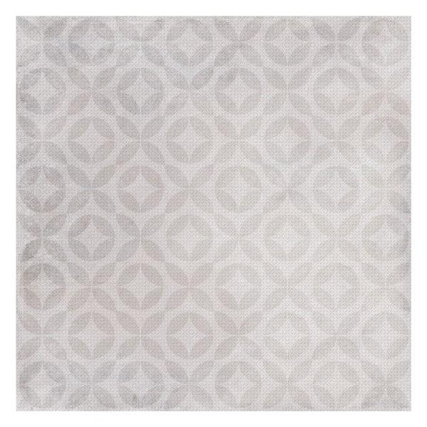 Ted Baker Geometric matt grey wall and floor tile 331mm x 331mm