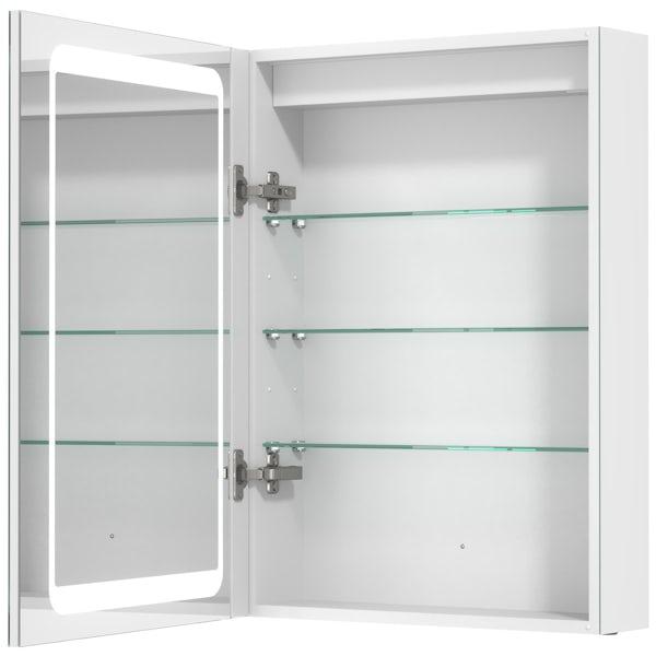 Mode Novus LED dual lit mirror cabinet