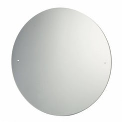 Circular Bevelled Edge Drilled Mirror Diameter 40cm