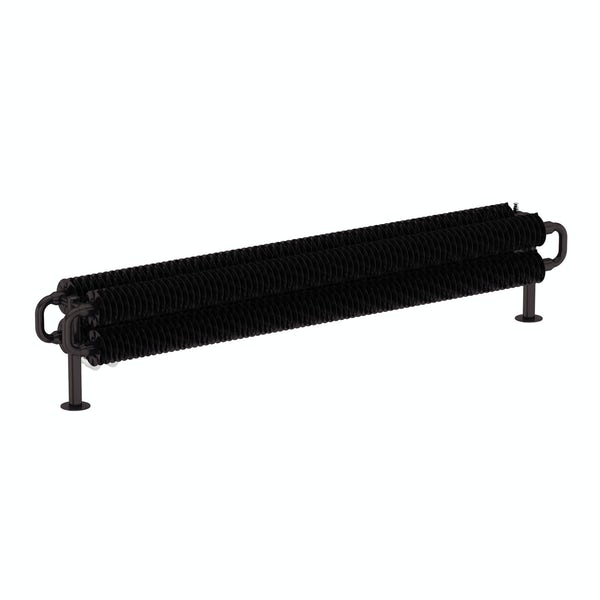 Ribbon meteor black horizontal radiator 190 x 1540