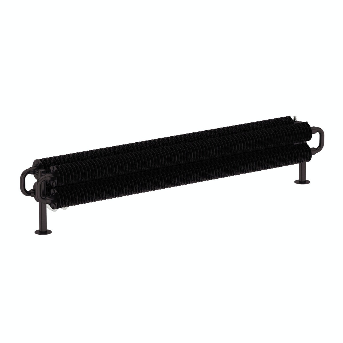 Terma Ribbon meteor black horizontal radiator 190 x 1540