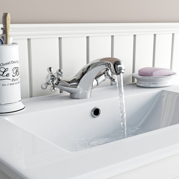 The Bath Co. Camberley basin and bath shower mixer tap pack