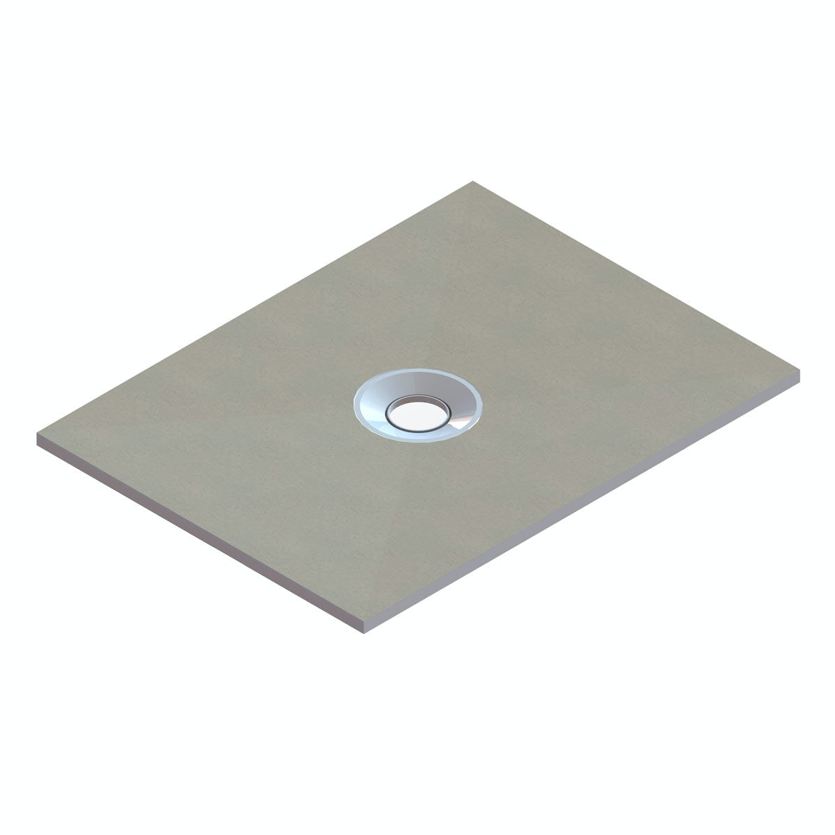 Orchard wet room tray centre waste 1200 x 900