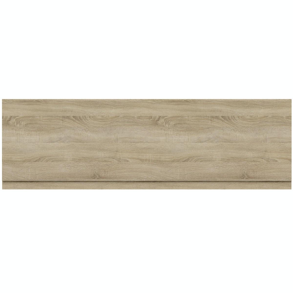 Orchard Wye oak bath front panel 1700mm