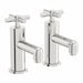 Mode Tate bath pillar taps