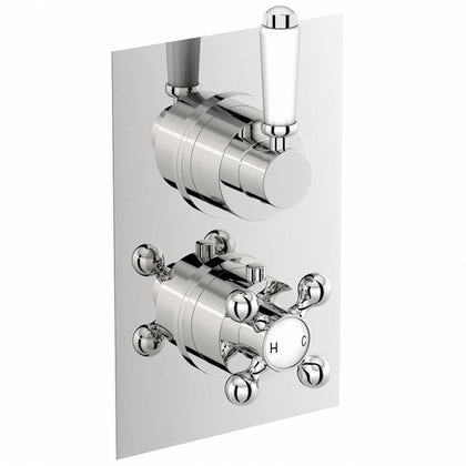 Traditional Square Twin Valve with Diverter