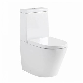 Demar Close Coupled Toilet inc Soft Close Seat Special Offer