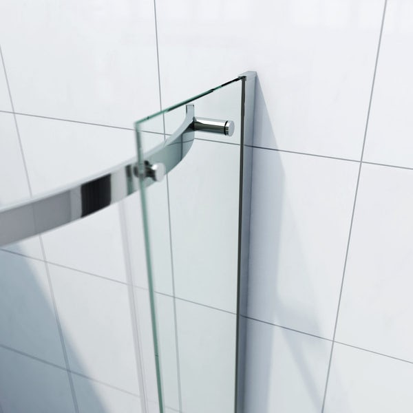 Infiniti 8mm One Door Offset Quadrant Shower Enclosure 900 x 760 RH