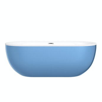 Mode Ellis lagoon coloured freestanding bath