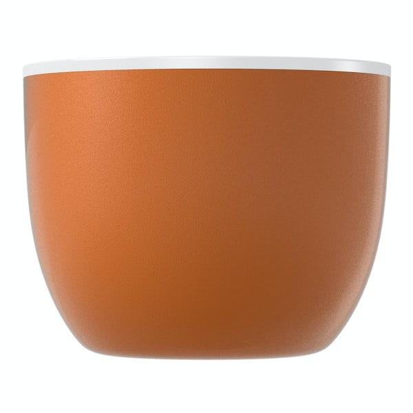 Ellis cinnamon coloured freestanding bath
