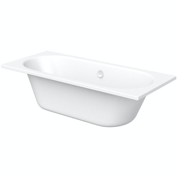 Kaldewei Classic Duo straight steel bath with leg set 1700 x 750 with no tap holes