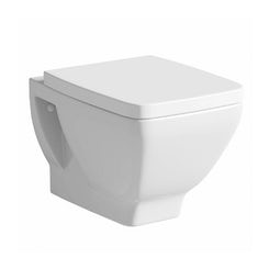 Verso wall hung toilet with soft close seat offer pack