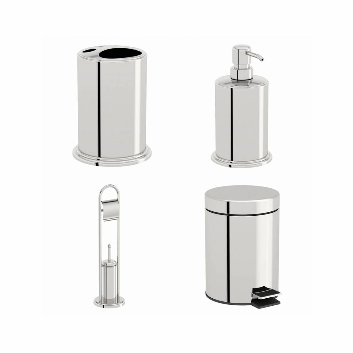 Orchard Options stainless steel 4 piece accessory set