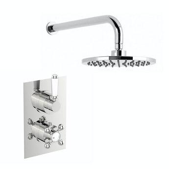 The Bath Co. Antonio thermostatic shower valve set