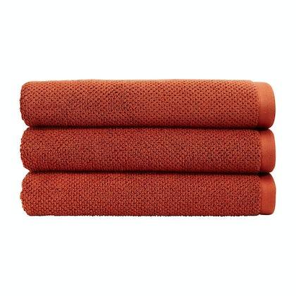Christy Brixton cinnabar bath towel