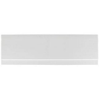 Gloss White Wooden Bath Side Panel 1800