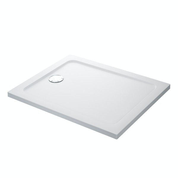 Mira Flight low level rectangular shower tray