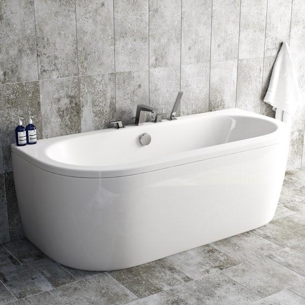 Mode Carter 4 hole bath shower mixer tap