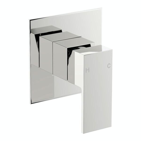Square Manual Shower Valve