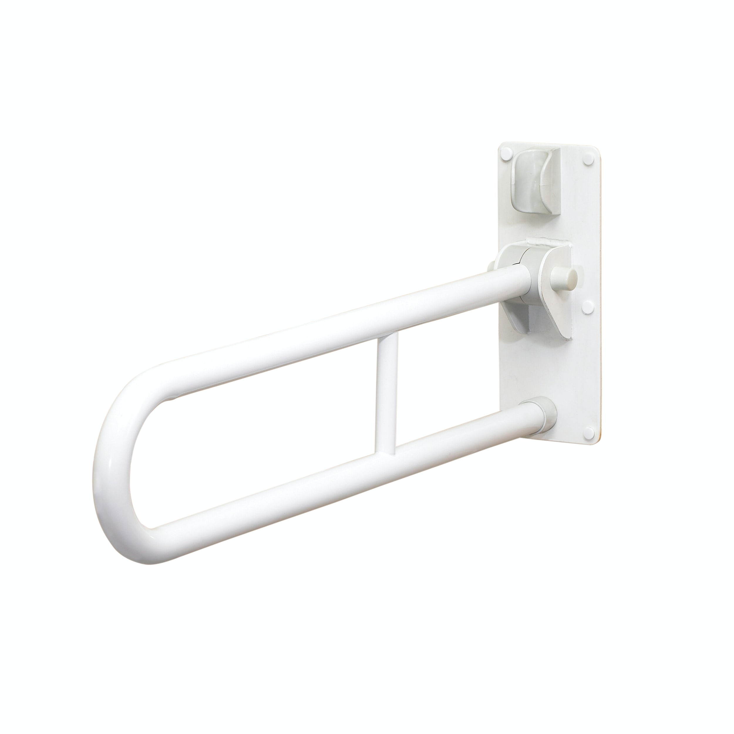 AKW Folding support grab rail white