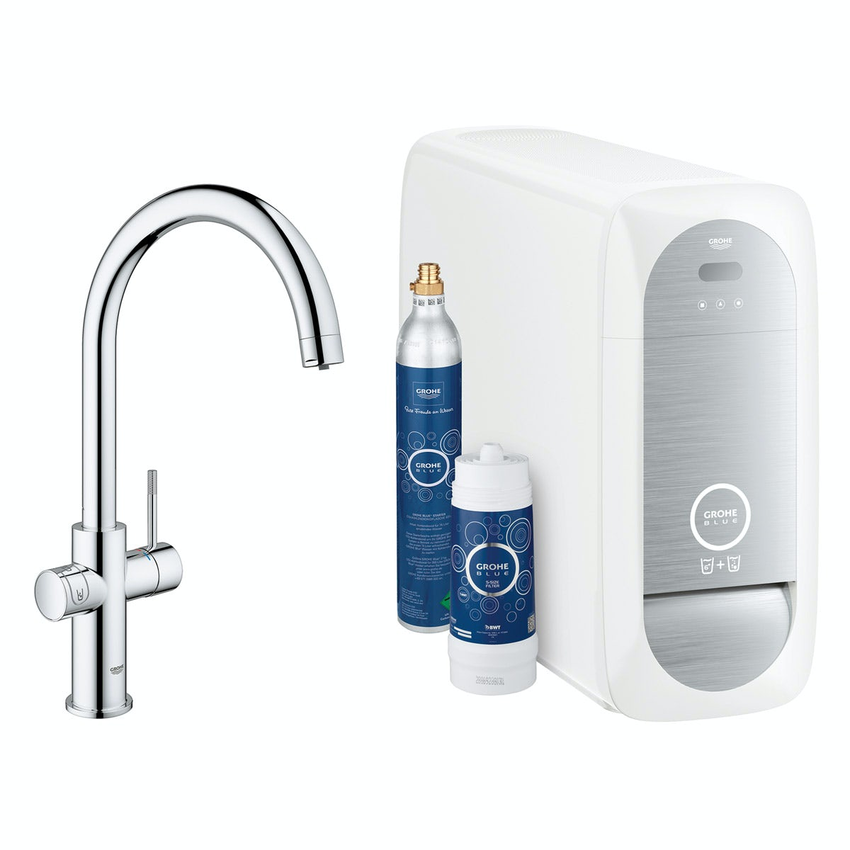Grohe Blue Home C spout kitchen tap