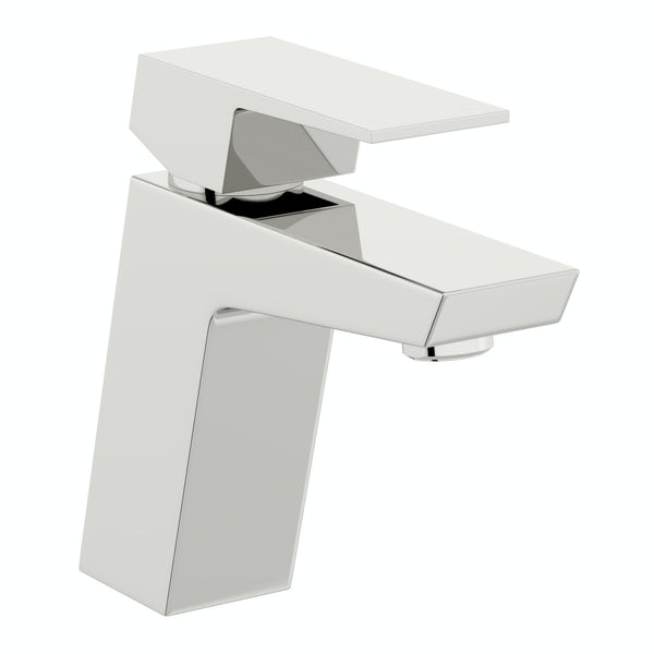 Mode Carter basin and 4 hole bath shower mixer tap pack