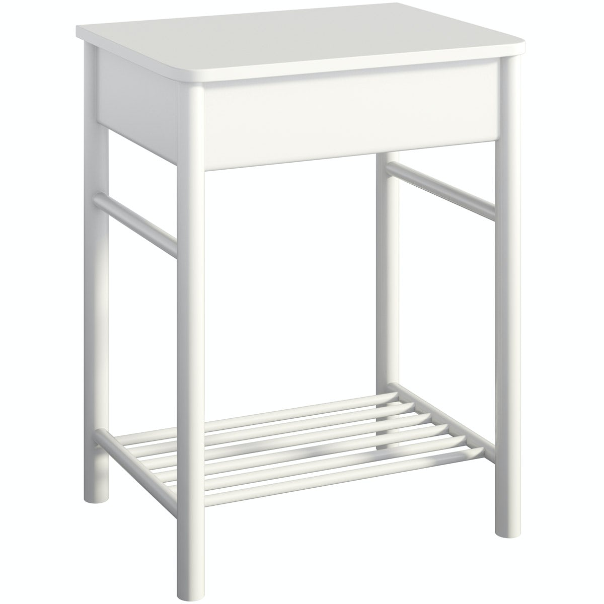 Mode South Bank white washstand with top