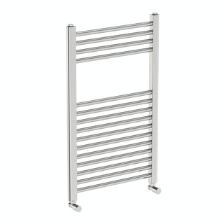 Eden round heated towel rail 800 x 490