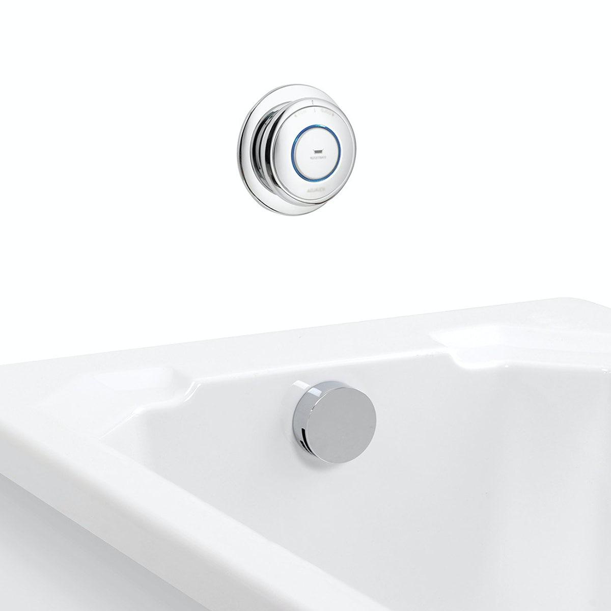 Aqualisa quartz digital bath fill system standard - Sold by Victoria Plum