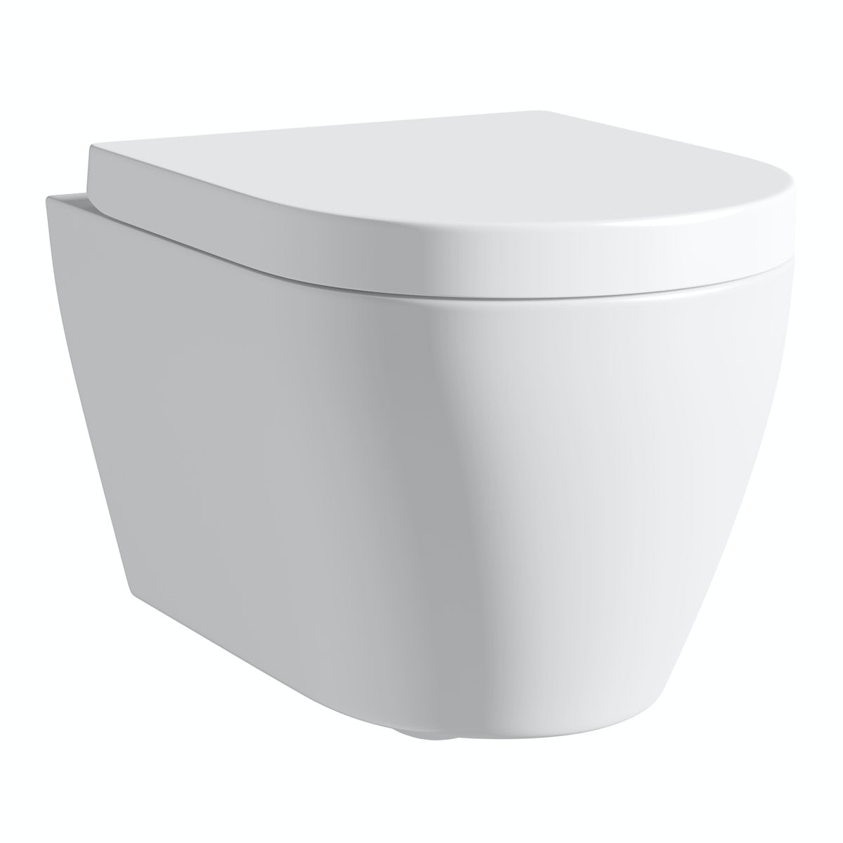 Mode Harrison wall hung toilet with soft close seat