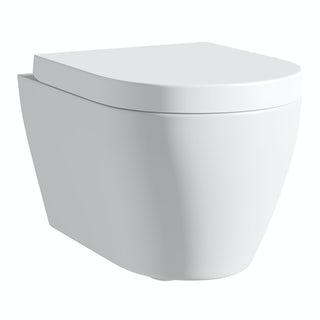 Opal wall hung toilet inc soft close seat