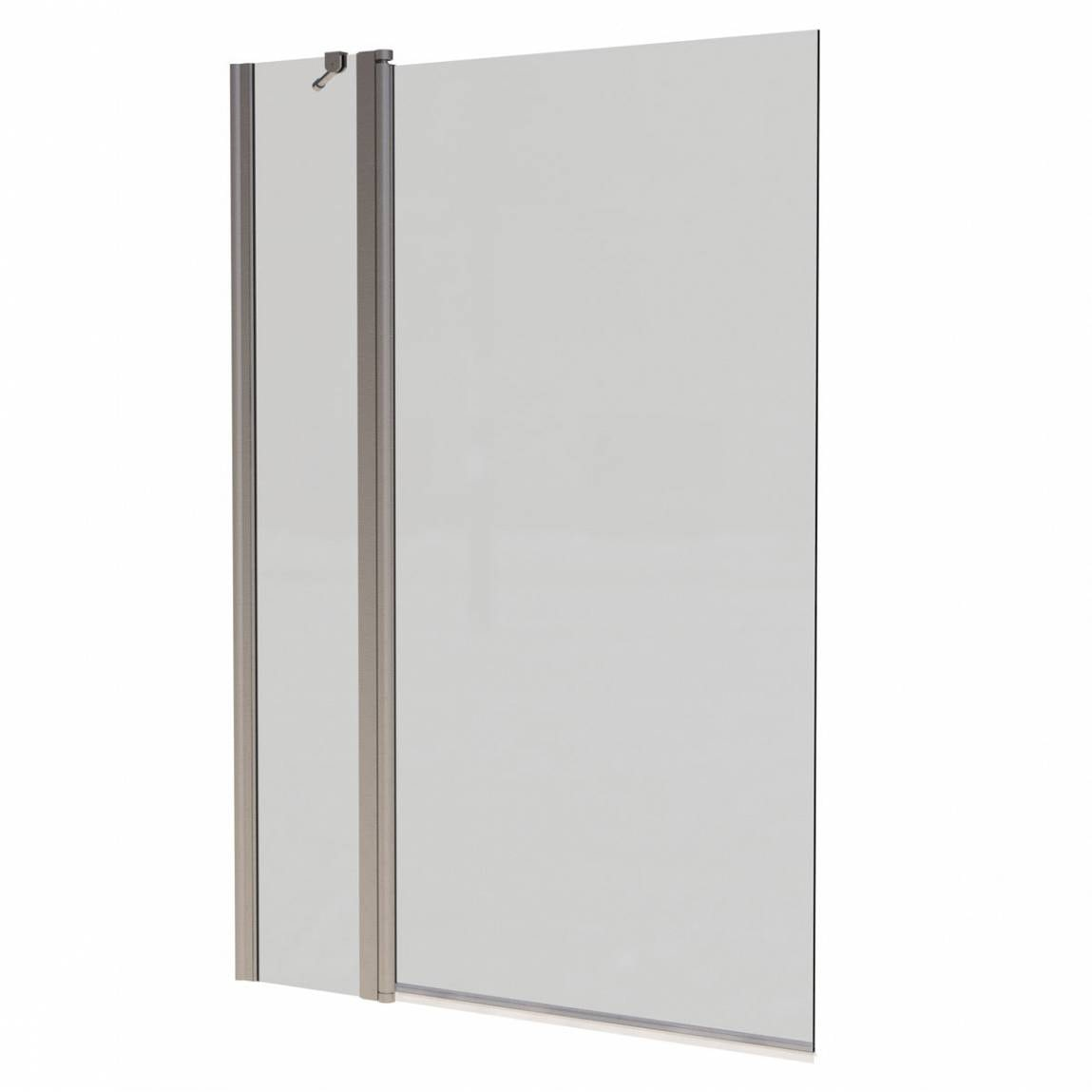 hinged shower screen mobroi com orchard 6mm hinged panel straight shower bath screen