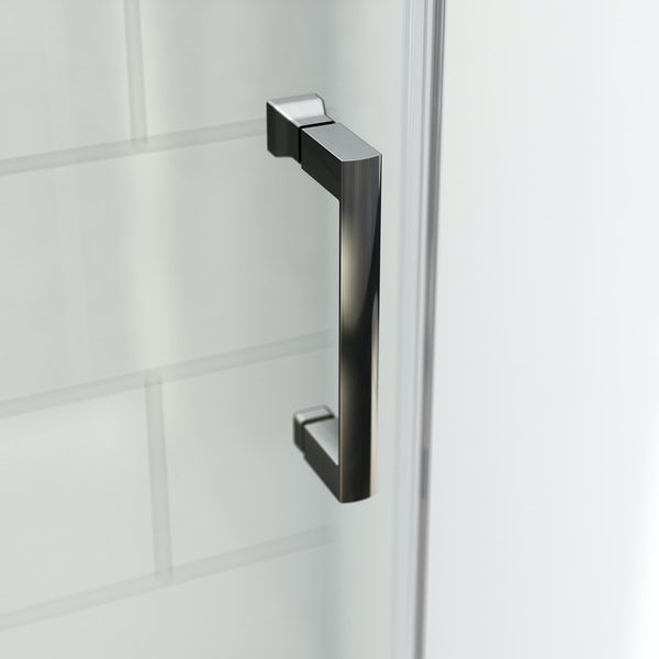 Mode tate black 6mm sliding shower door 1200mm offer pack for 1200mm shower door sliding