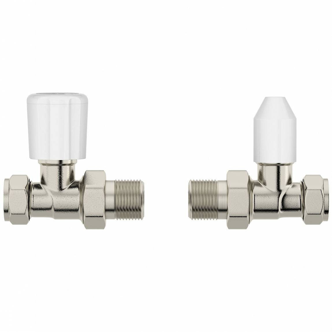 Clarity straight radiator valves