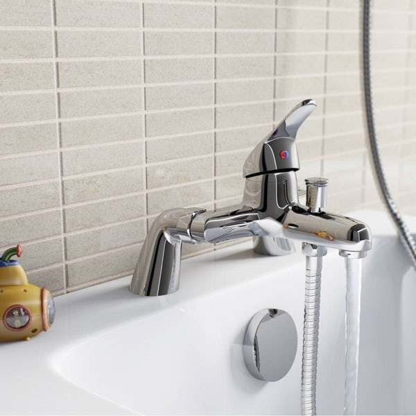 Clarity single lever bath shower mixer tap
