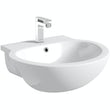 Maine Semi Recessed Basin