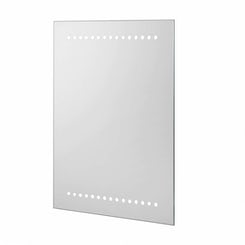 Orion battery powered LED bathroom mirror 500 x 390
