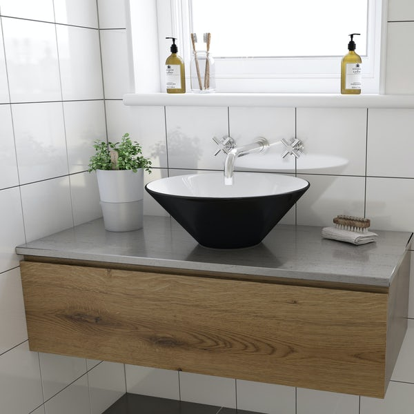 Caspian counter top basin