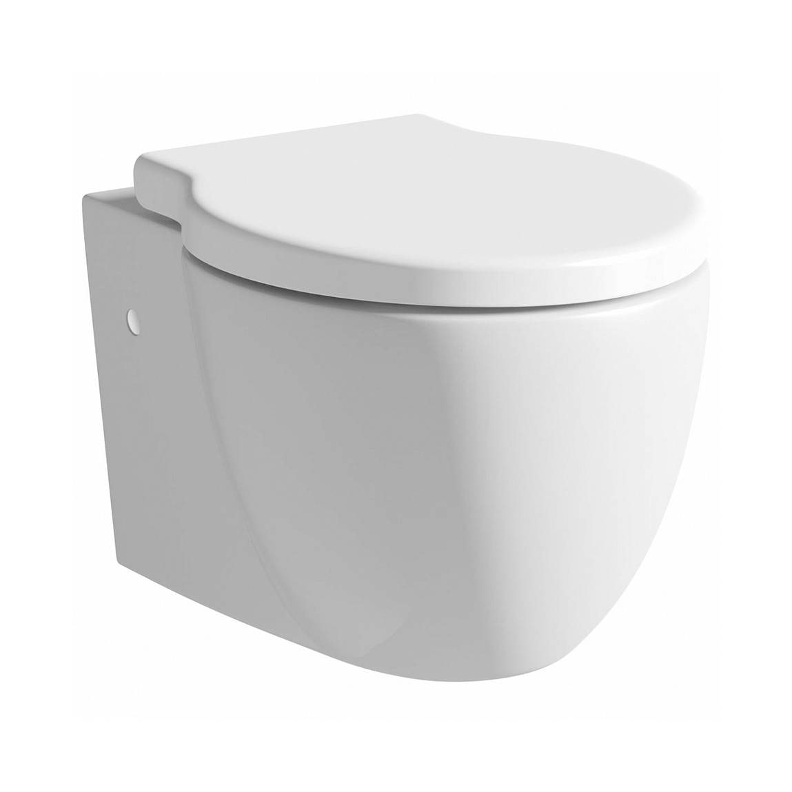 Maine Wall Hung Toilet Inc Luxury Soft Close Seat