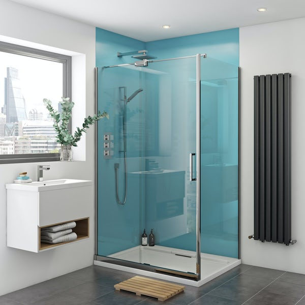Zenolite plus water acrylic shower wall panel 2440 x 1220