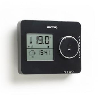 Warmup Tempo underfloor heating thermostat piano black