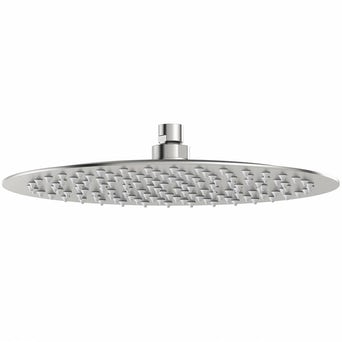 Brushed Stainless Steel Waifer Shower Head Round 300mm