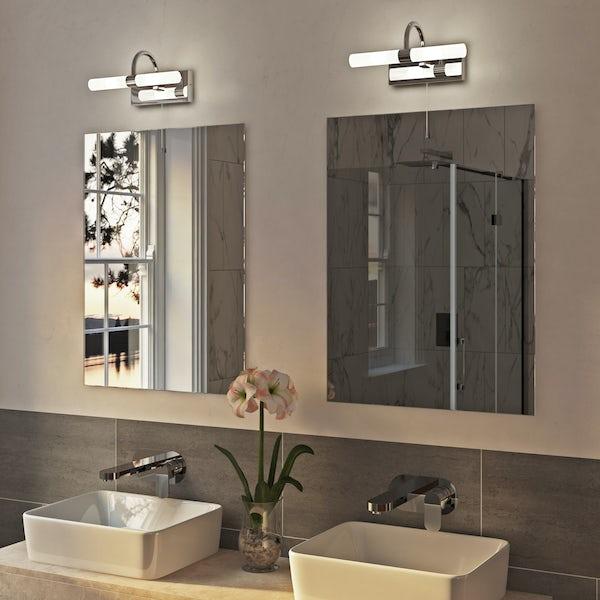 Forum Lys over mirror bathroom light