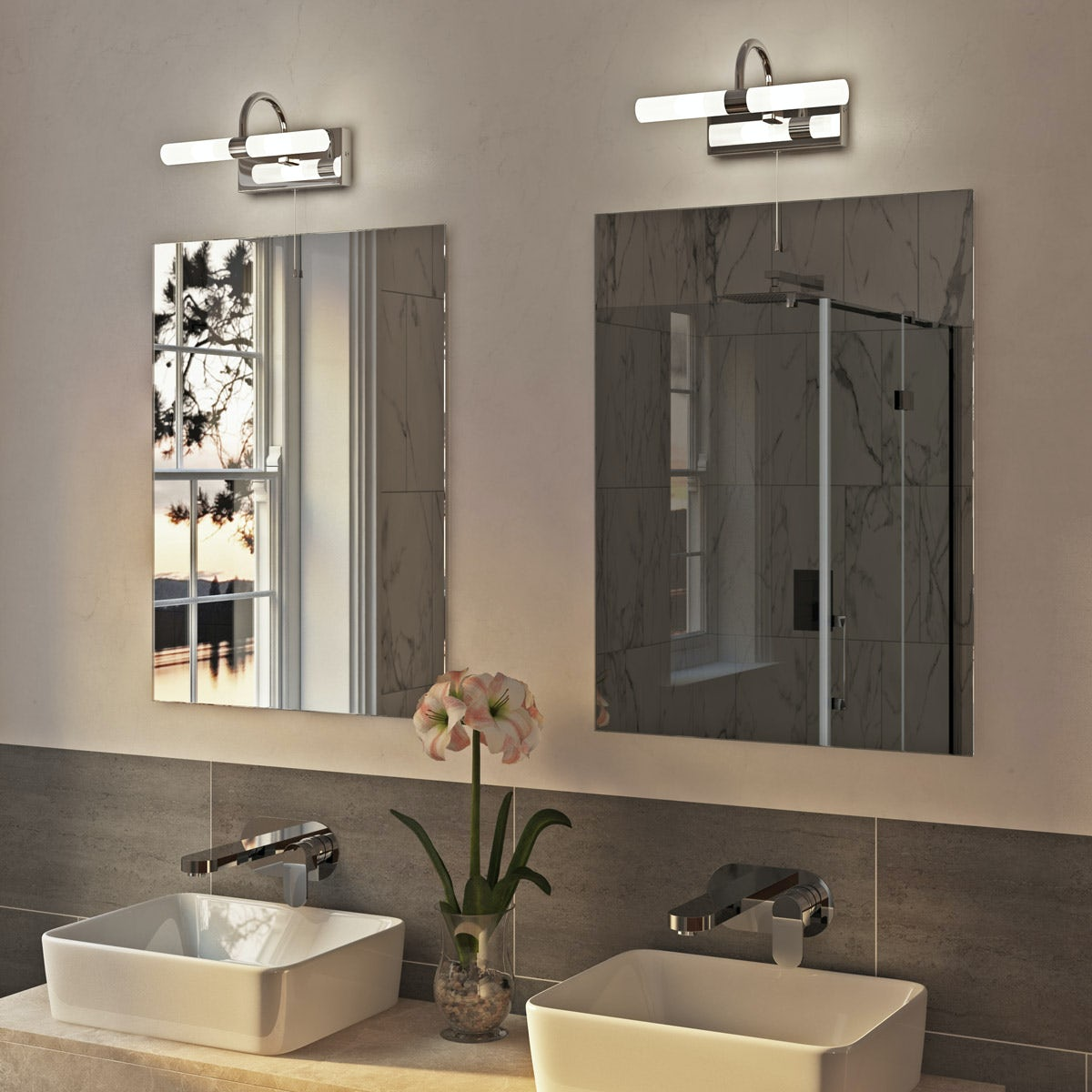forum lys mirror bathroom light 16336